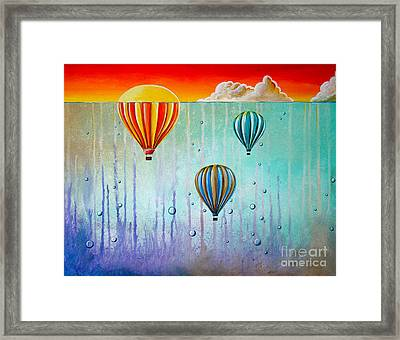 The Beautiful Briny Sea Framed Print by Cindy Thornton