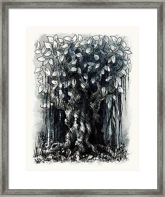 The Beautiful Tree Framed Print by Rachel Christine Nowicki