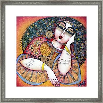 The Beauty Framed Print by Albena Vatcheva