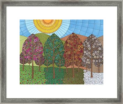 The Beauty Of Change Framed Print by Pamela Schiermeyer