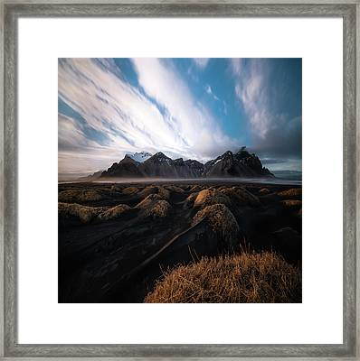 the Beauty of Iceland Framed Print by Larry Marshall
