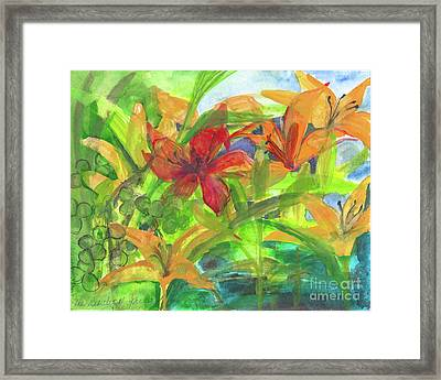 The Beauty Of Spring 2009 Framed Print by Claudia Smaletz