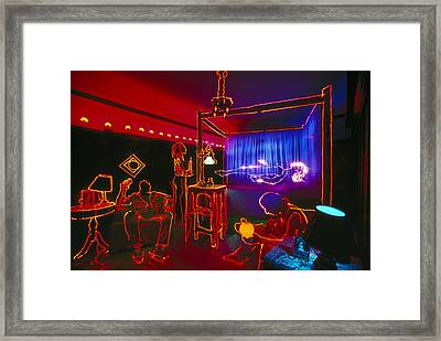 The Bedroom Framed Print by Garry Gay