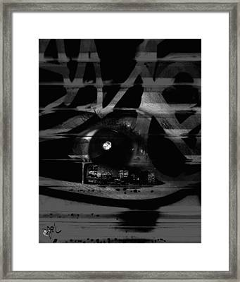 The Beholder Framed Print by Ken Walker