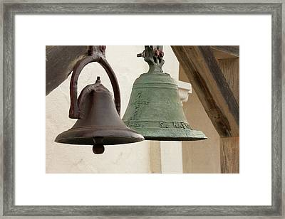 The Bells Of Mission San Rafael Framed Print by Art Block Collections
