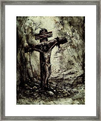 The Beloved Son Framed Print by Rachel Christine Nowicki