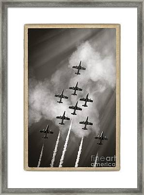 The Best Aerobatic Team Framed Print by Stefano Senise