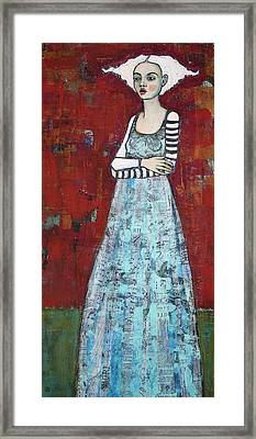The Better To Hold You With Framed Print by Jane Spakowsky