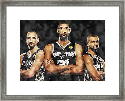 The Big 3 Framed Print by Carole Jacobs