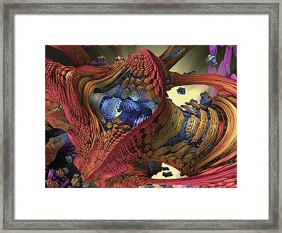 The Big Bang Framed Print by Mary Almond
