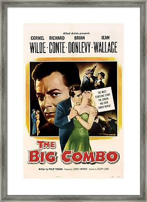 The Big Combo 1955 Framed Print by Mountain Dreams