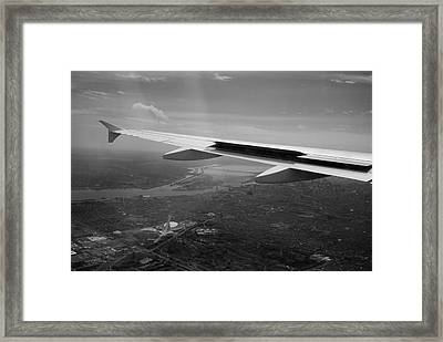The Big O From On High Framed Print by Lisa Knechtel