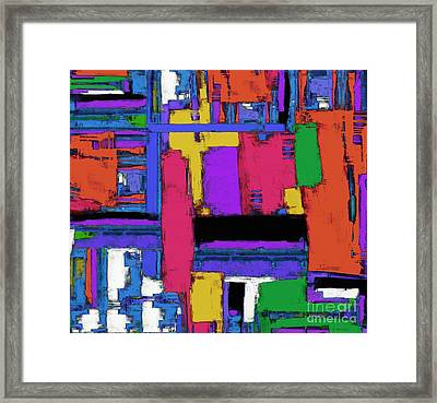 The Big Room Framed Print by Keith Mills