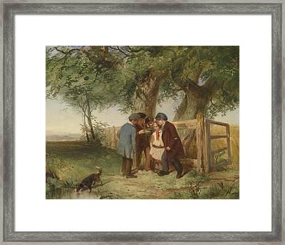 The Bird's Nest Framed Print by John Blake MacDonald