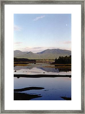 The Bitterroot Mountain Range Framed Print by Allen Foley