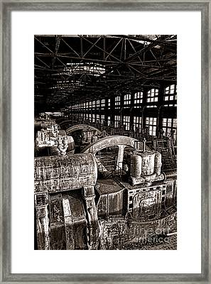 The Blower House At Bethlehem Steel  Framed Print by Olivier Le Queinec