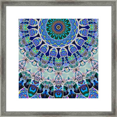 The Blue Collective 02b Framed Print by Wendy J St Christopher