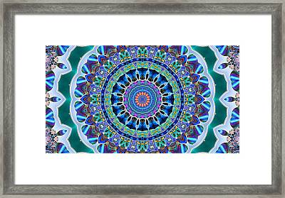 The Blue Collective 03a Framed Print by Wendy J St Christopher