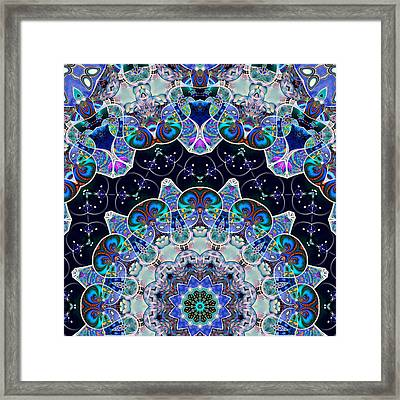The Blue Collective 05b Framed Print by Wendy J St Christopher