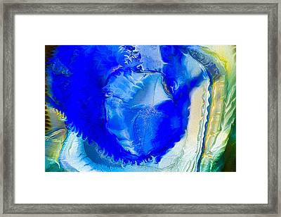 The Blues Framed Print by Omaste Witkowski