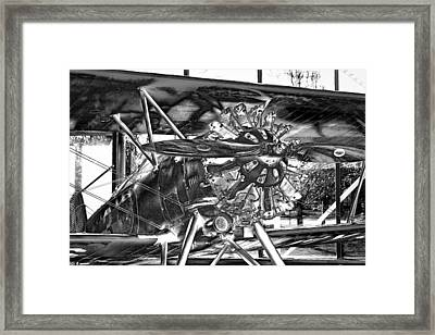 The Boeing 100p Fighter Framed Print by David Patterson