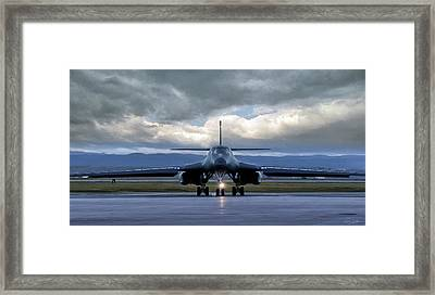 The Bone Framed Print by Peter Chilelli