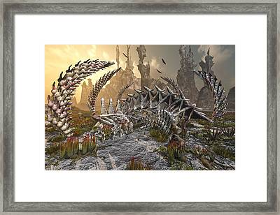 The Boneyard Framed Print by Mary Almond
