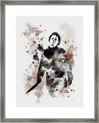 The Boogeyman Framed Print by Rebecca Jenkins
