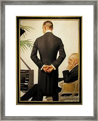 The Boss Framed Print by Celestial Images