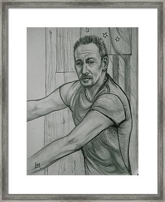 The Boss Framed Print by Pete Maier