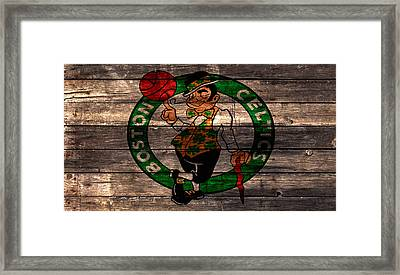 The Boston Celtics 3w Framed Print by Brian Reaves