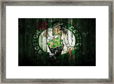 The Boston Celtics 5d Framed Print by Brian Reaves