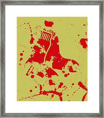 The Boston Red Sox 2e Framed Print by Brian Reaves