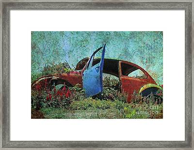 The Botanical Beetle 2 Framed Print by Lydia Holly