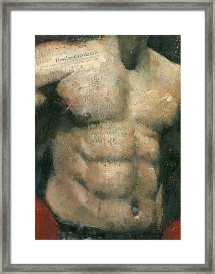 The Boxer Framed Print by Steve Mitchell
