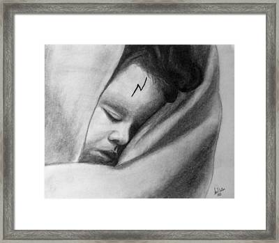 The Boy Who Lived Framed Print by Anu Dhillon