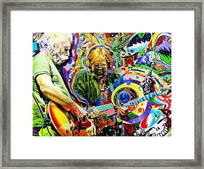 The Boys Of Summer Framed Print by Kevin J Cooper Artwork