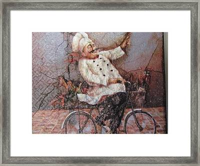 Baked Fresh Daily Framed Print by Joyce Woodhouse
