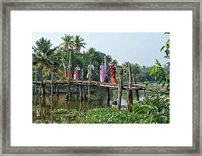 The Bridge Framed Print by Marion Galt