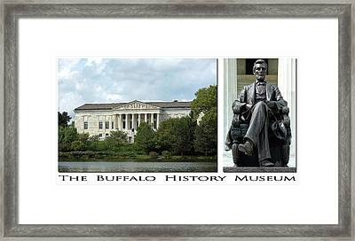 The Buffalo History Museum Framed Print by Peter Chilelli