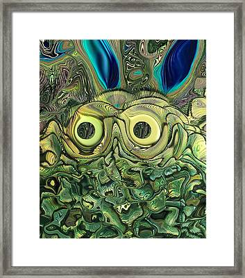 The Bug Framed Print by Ernie Echols