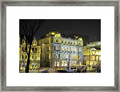 The Bund - Shanghai's Signature Strip Of Historic Riverfront Architecture Framed Print by Christine Till