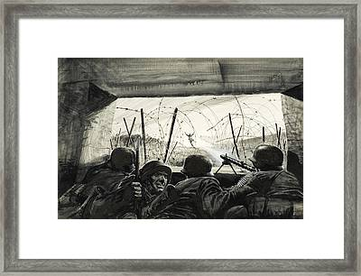 The Bunker  Framed Print by Graham Coton