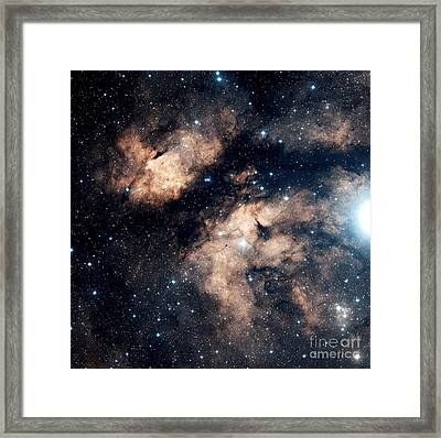 The Butterfly Nebula Framed Print by Charles Shahar
