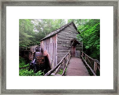 The Cable Grist Mill Framed Print by Thomas Schoeller