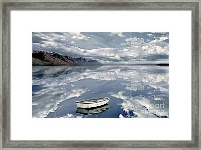 The Calm Framed Print by Jacky Gerritsen