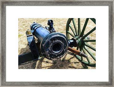 The Cannon Of Elkton Framed Print by Daniel LaFollette