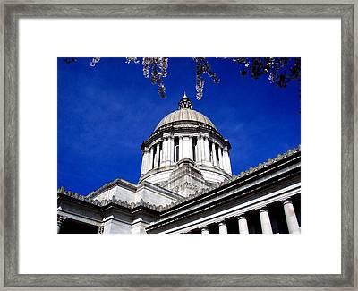 The Capital  Framed Print by Kevin D Davis