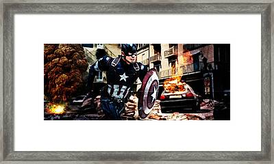 The Captain Framed Print by The DigArtisT