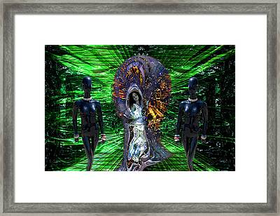 The Captive Of Fashion Framed Print by Lisa Yount